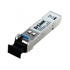 DEM-331R/20KM/DD/E1A Трансивер D-Link DEM-331R 1000Base-LX SMF WDM SFP  (up to 20km, support 3.3V power, LC connector)